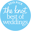 The Knot Wedding award